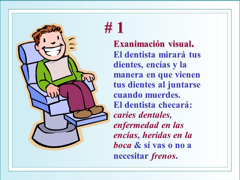 # 1 Exanimación visual.