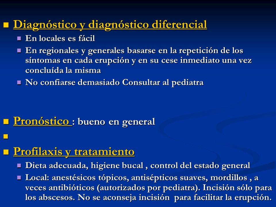 Diagnóstico y diagnóstico diferencial