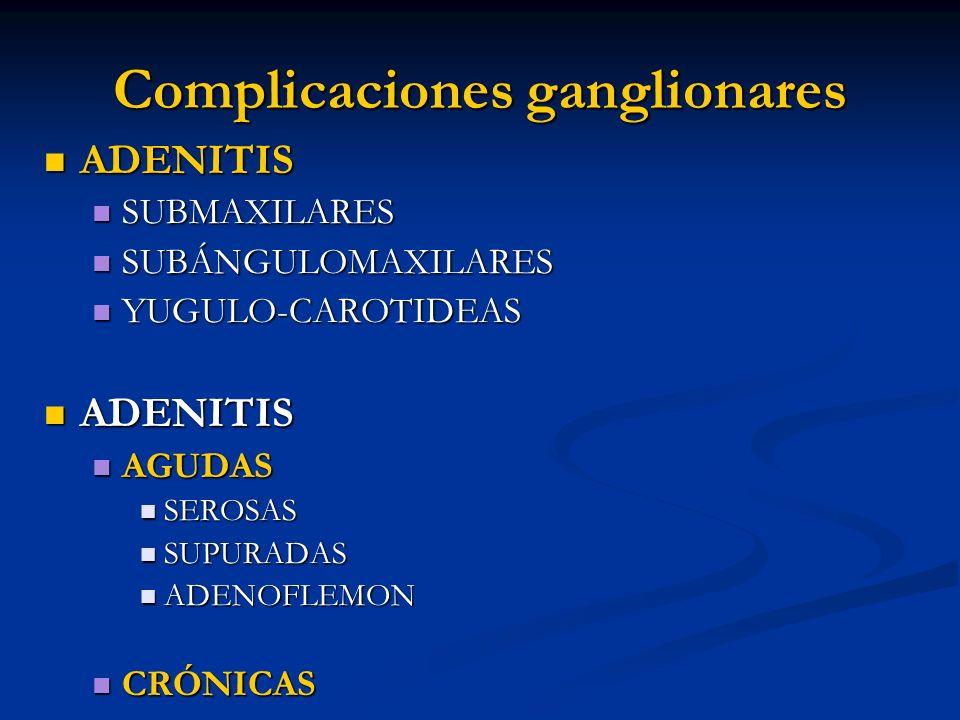 Complicaciones ganglionares