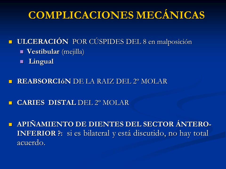 COMPLICACIONES MECÁNICAS