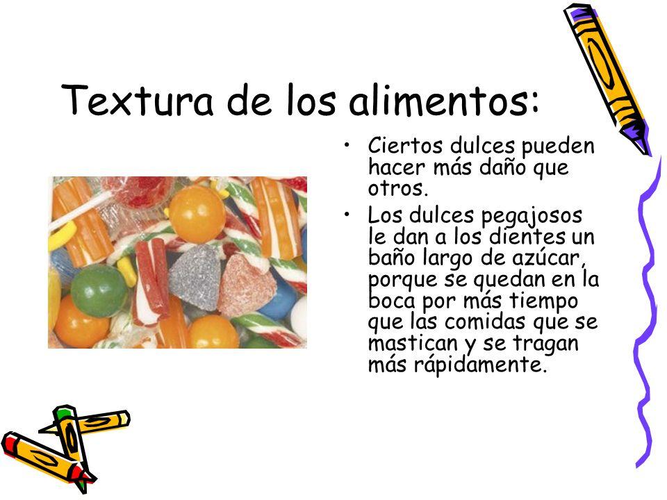 Textura de los alimentos: