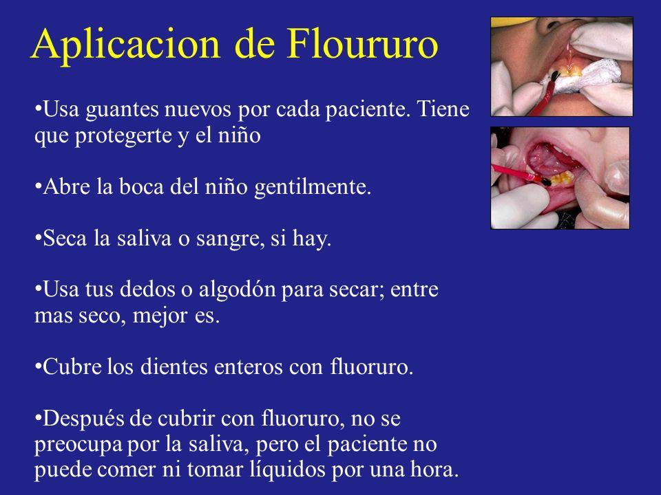 Aplicacion de Floururo