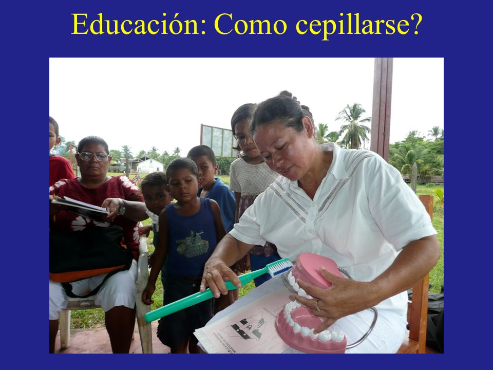 Educación: Como cepillarse