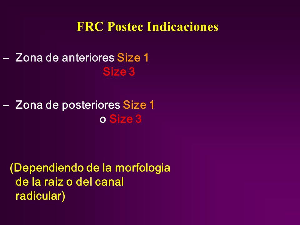 FRC Postec Indicaciones