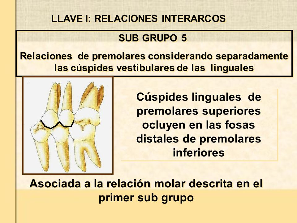 Asociada a la relación molar descrita en el primer sub grupo