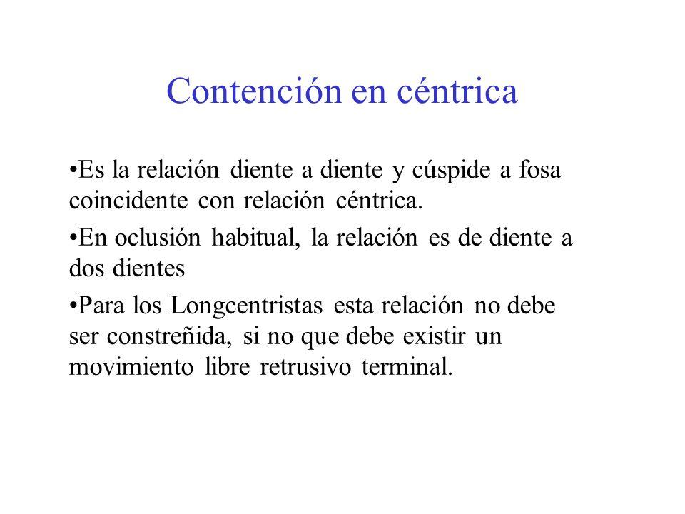 Contención en céntrica