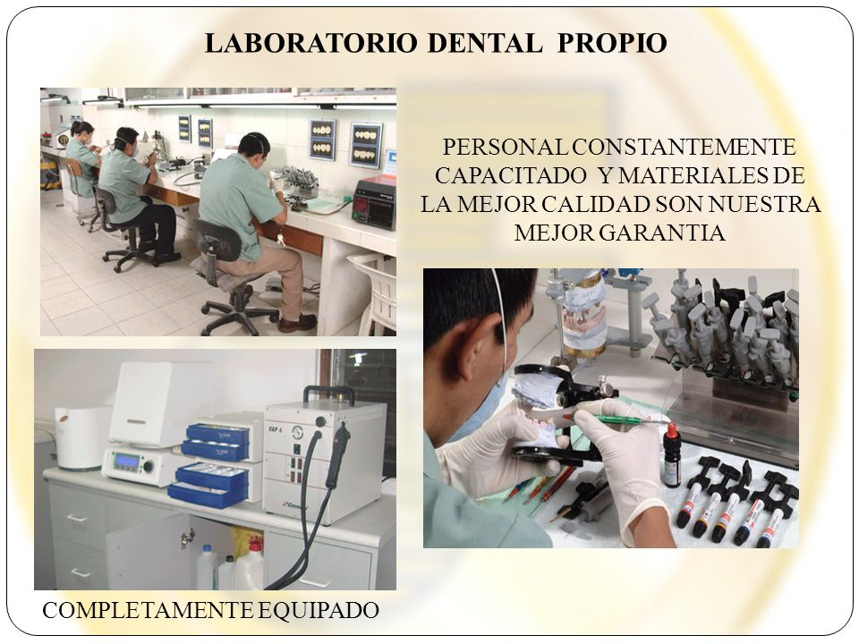LABORATORIO DENTAL PROPIO