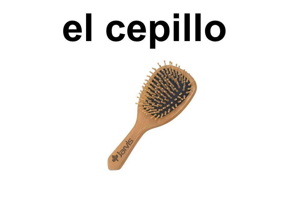 el cepillo