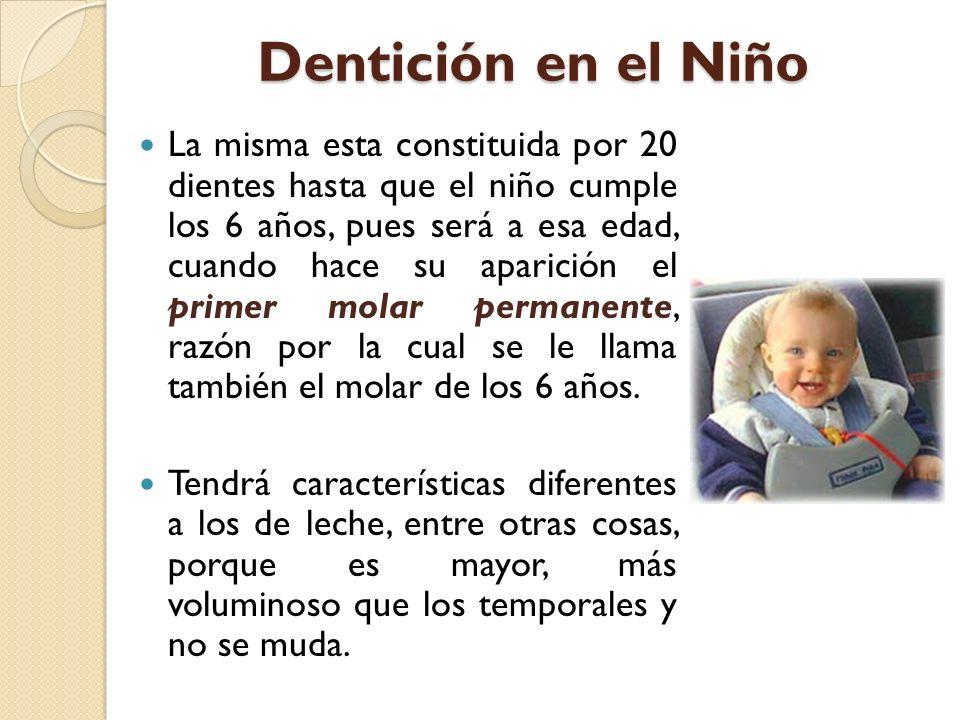Dentición en el Niño
