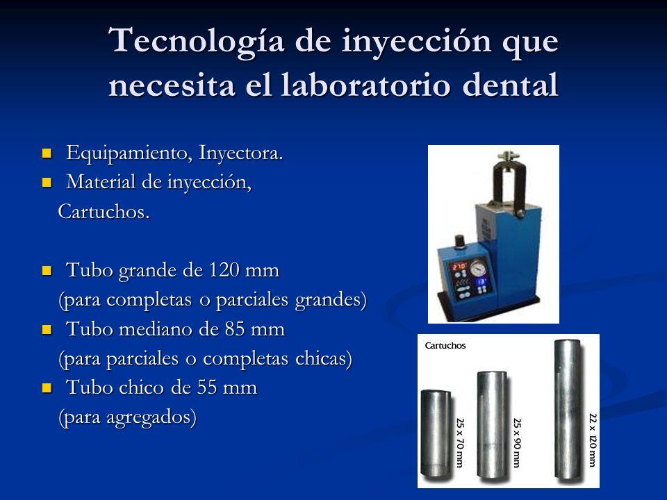 Tecnología de inyección que necesita el laboratorio dental