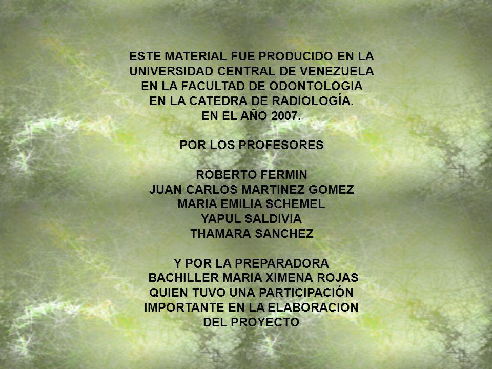ESTE MATERIAL FUE PRODUCIDO EN LA UNIVERSIDAD CENTRAL DE VENEZUELA