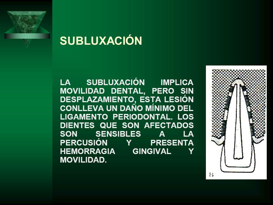 SUBLUXACIÓN