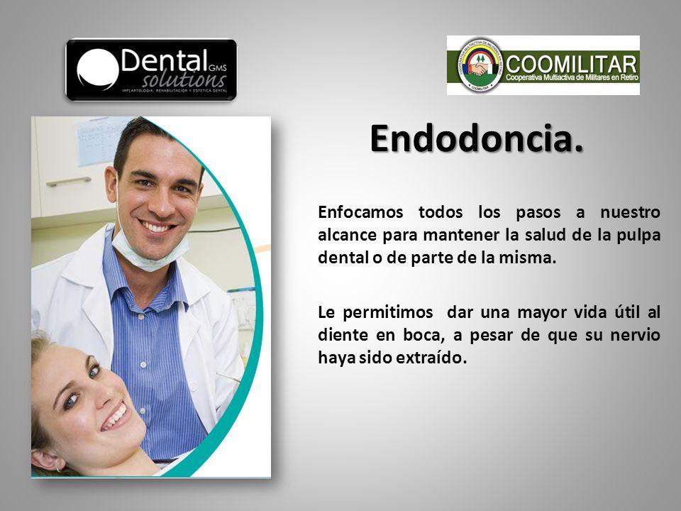 Endodoncia.