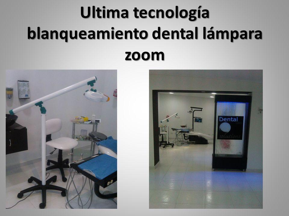 Ultima tecnología blanqueamiento dental lámpara zoom