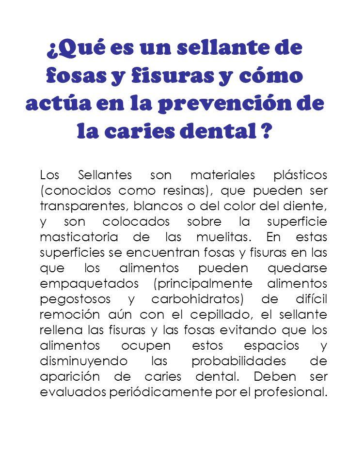 ¿Qué es un sellante de fosas y fisuras y cómo actúa en la prevención de la caries dental