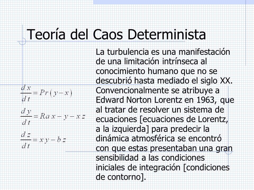 Teoría del Caos Determinista