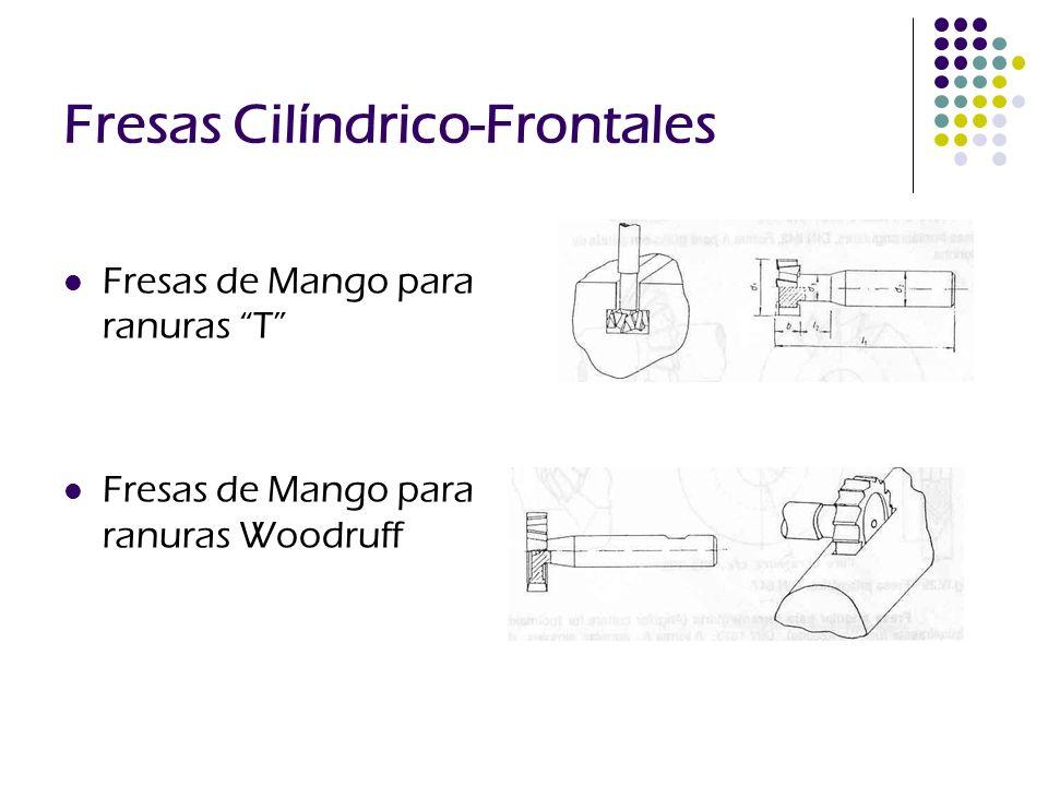 Fresas Cilíndrico-Frontales
