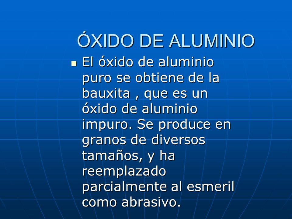 ÓXIDO DE ALUMINIO