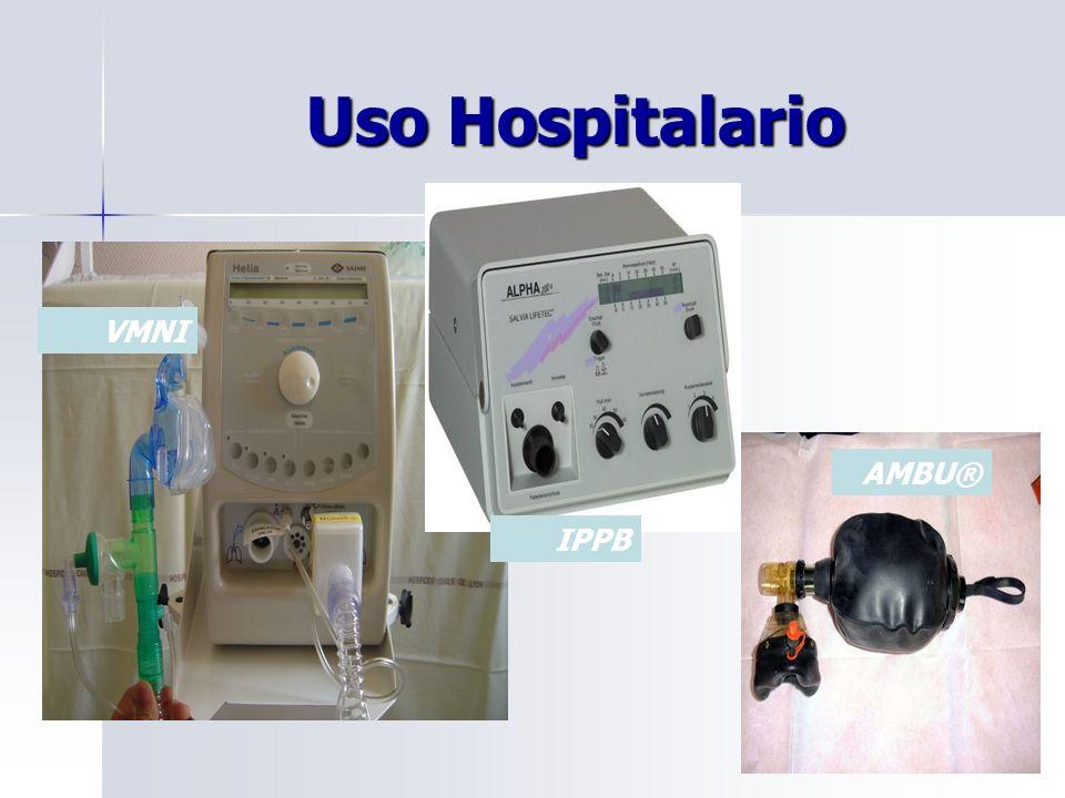 Uso Hospitalario VMNI AMBU® IPPB