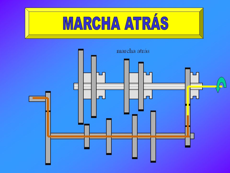 MARCHA ATRÁS