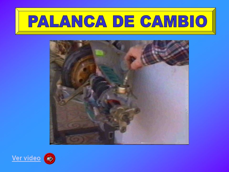 PALANCA DE CAMBIO Ver video