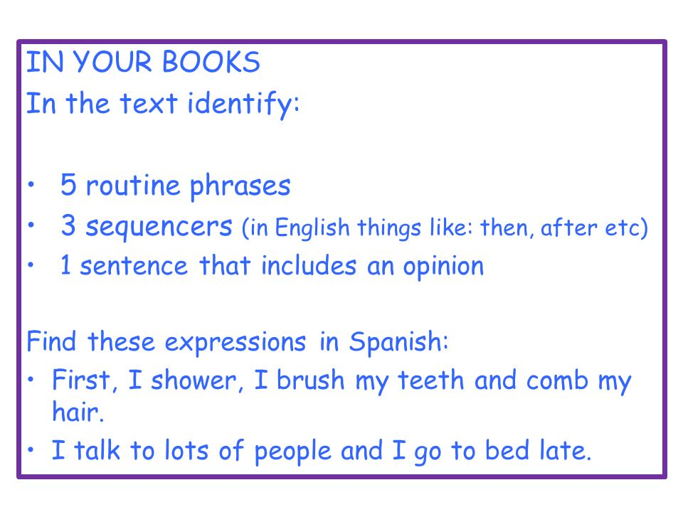 How To Say Go To Bed In Spanish 28 Images How To Say