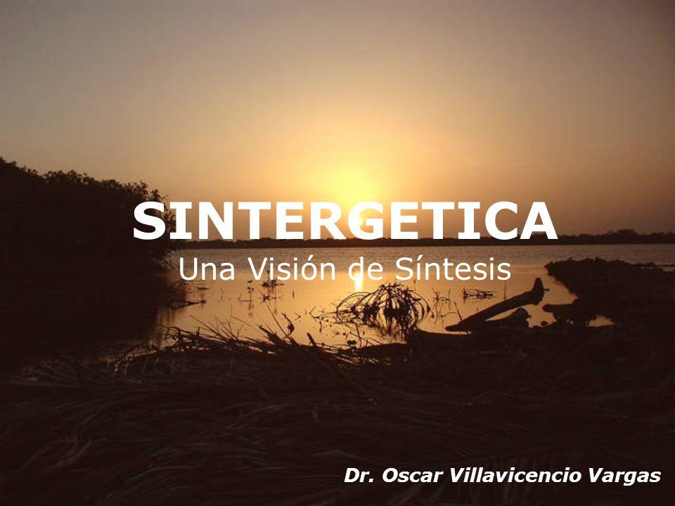 SINTERGETICA Una Visión de Síntesis Dr. Oscar Villavicencio Vargas