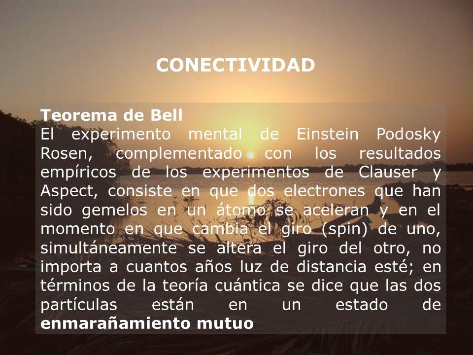 CONECTIVIDAD Teorema de Bell