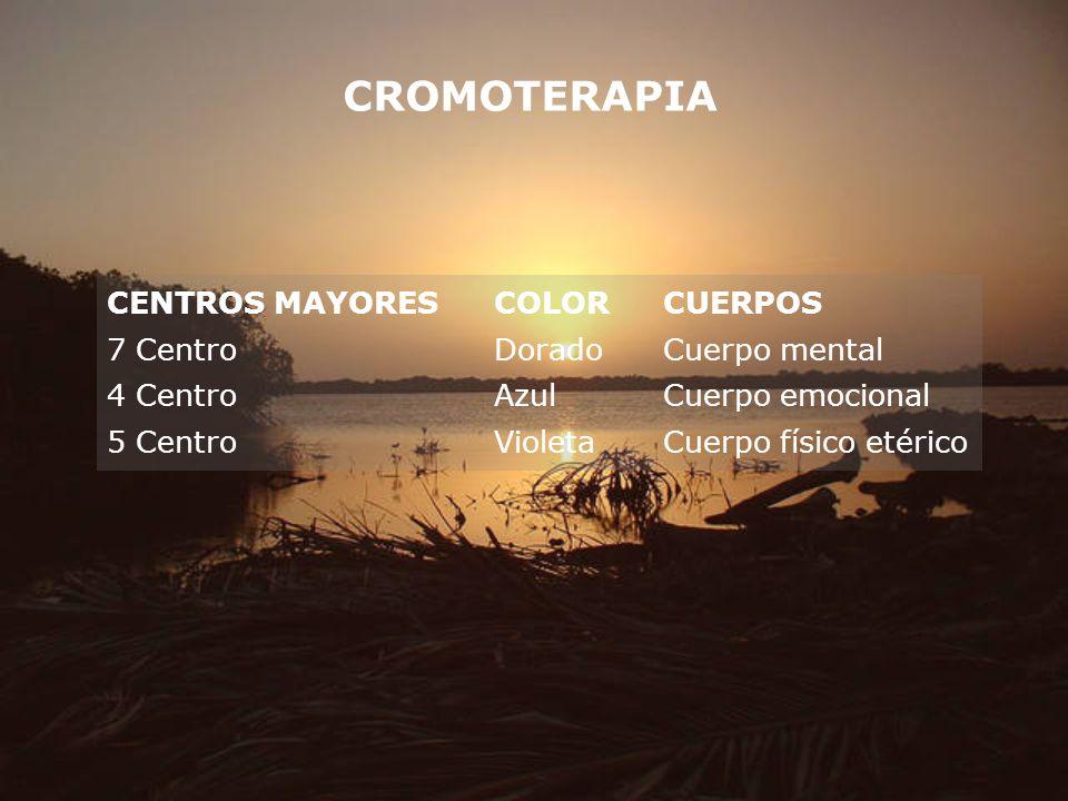 CROMOTERAPIA CENTROS MAYORES COLOR CUERPOS