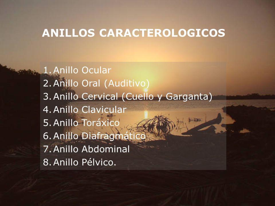 ANILLOS CARACTEROLOGICOS