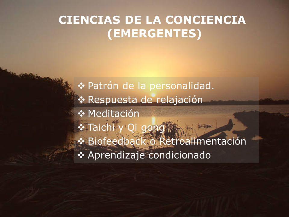 CIENCIAS DE LA CONCIENCIA