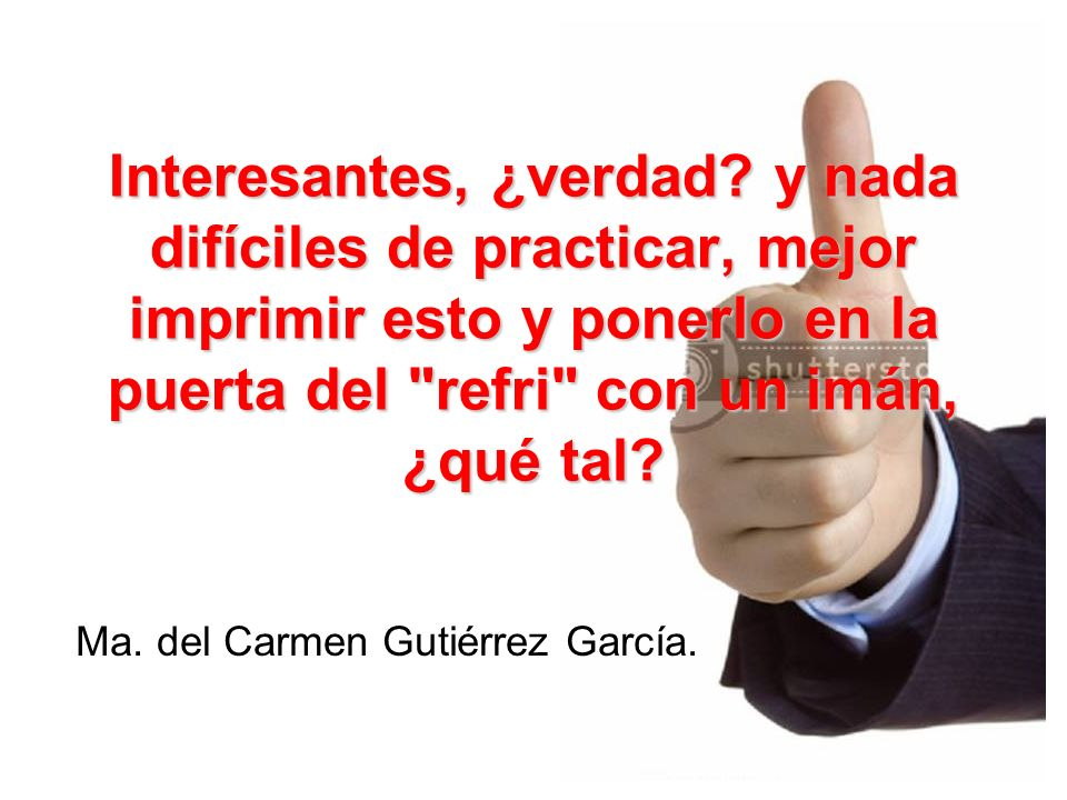 Ma. del Carmen Gutiérrez García.