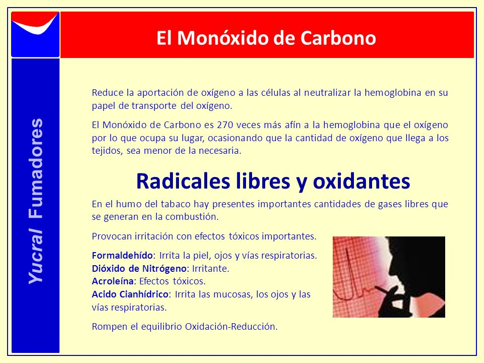 Radicales libres y oxidantes