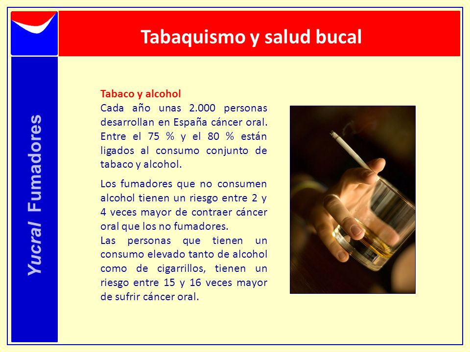 Tabaquismo y salud bucal