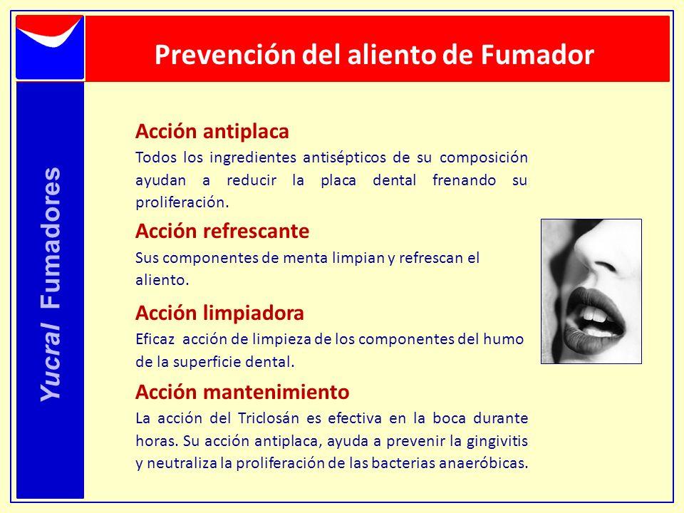 Prevención del aliento de Fumador