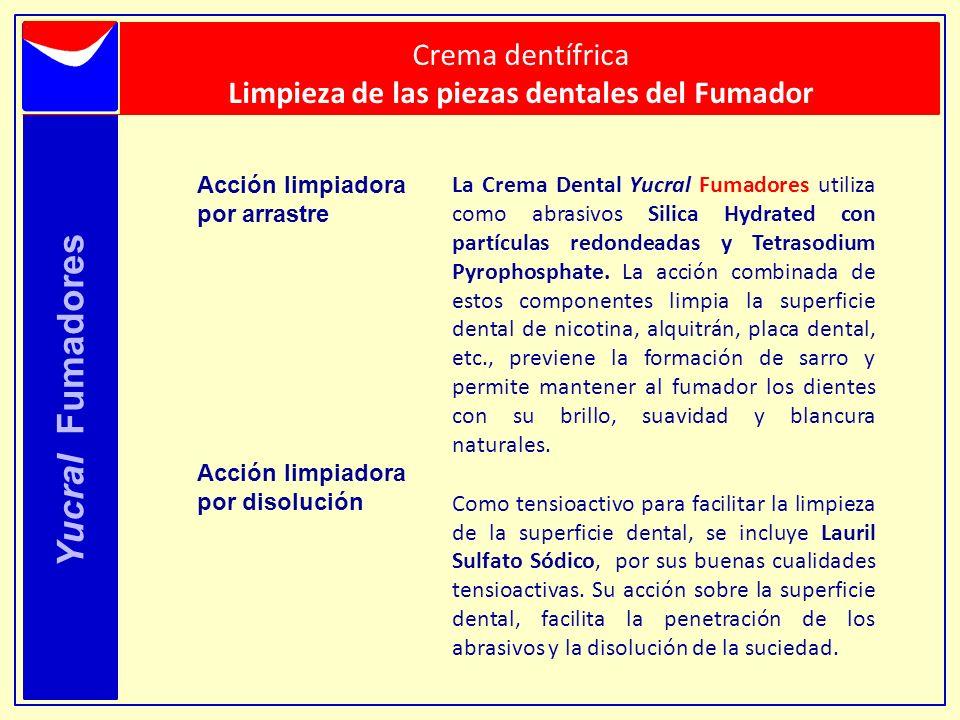 Limpieza de las piezas dentales del Fumador