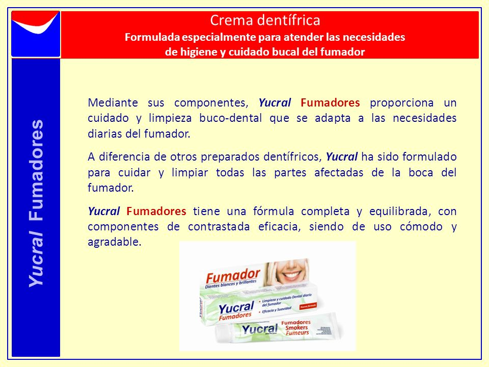 Yucral Fumadores Crema dentífrica