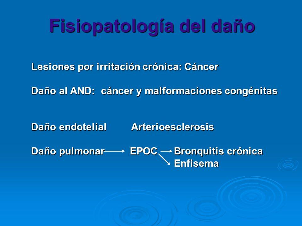 Fisiopatología del daño