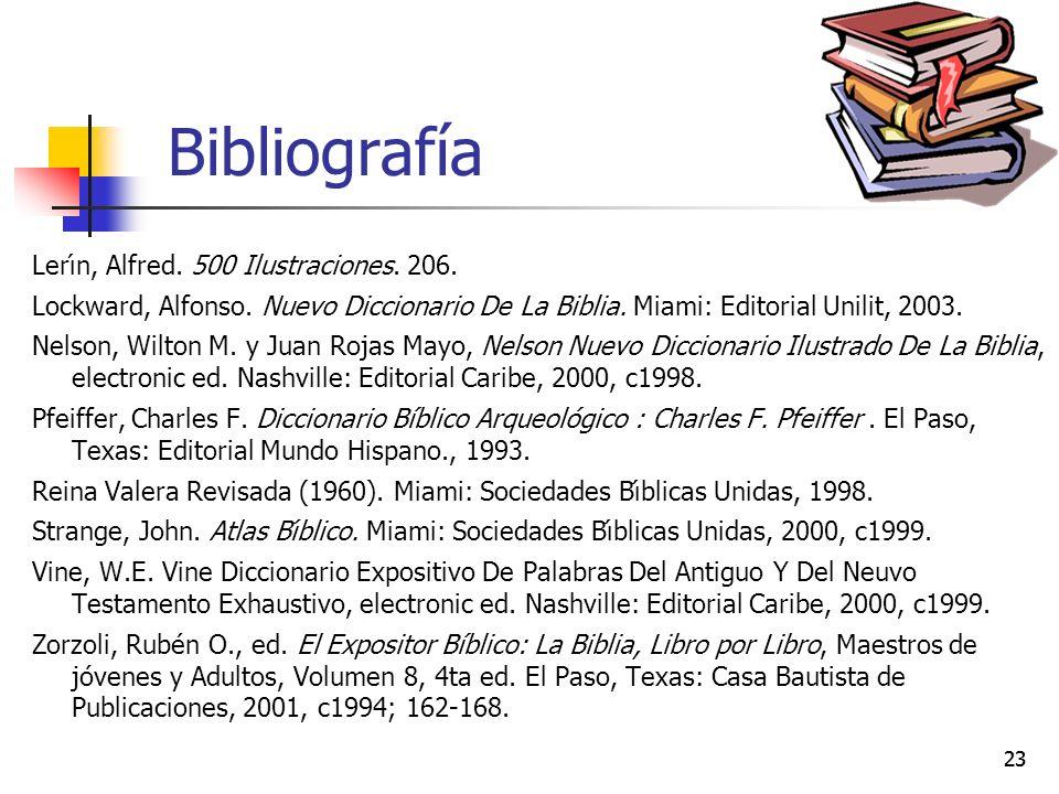 Bibliografía Lerı́n, Alfred. 500 Ilustraciones. 206.
