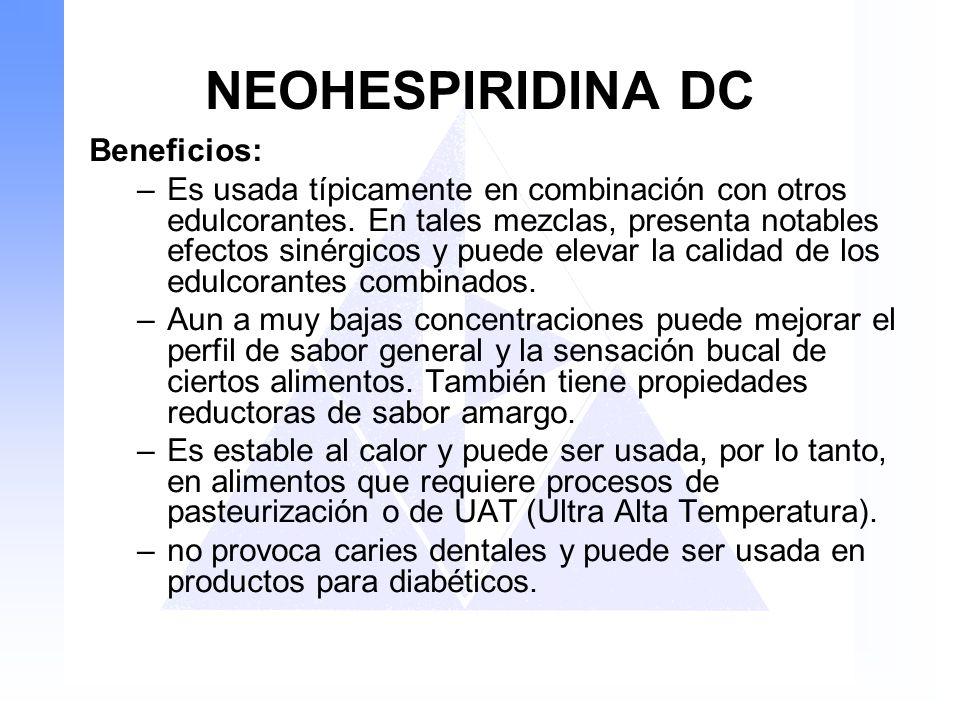 NEOHESPIRIDINA DC Beneficios:
