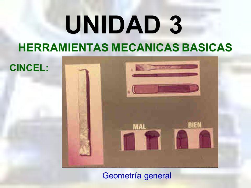 HERRAMIENTAS MECANICAS BASICAS