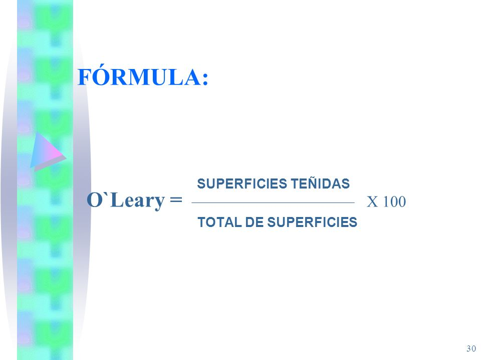 SUPERFICIES TEÑIDAS TOTAL DE SUPERFICIES