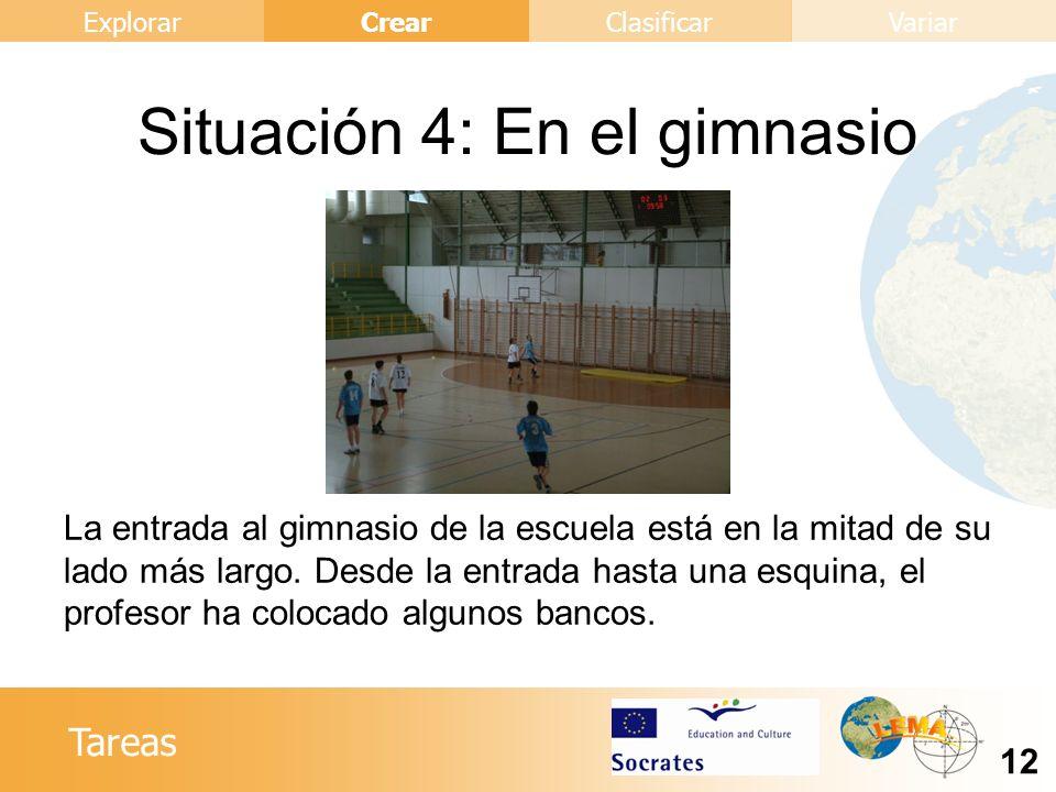 Situación 4: En el gimnasio