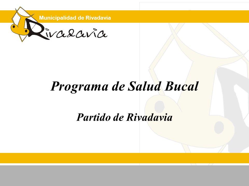 Programa de Salud Bucal Partido de Rivadavia