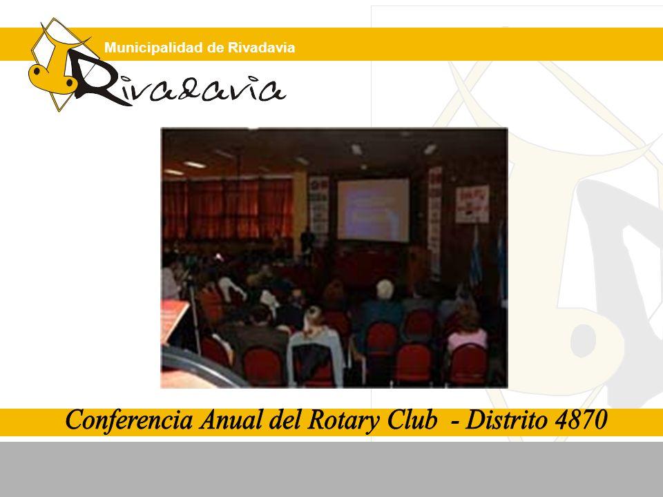 Conferencia Anual del Rotary Club - Distrito 4870