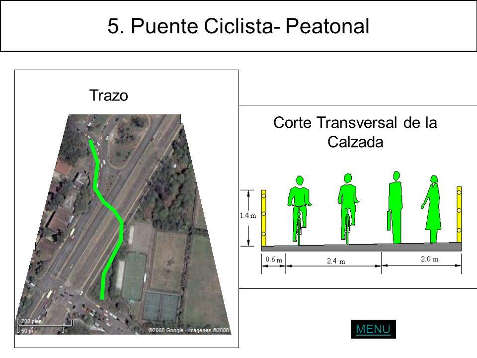 5. Puente Ciclista- Peatonal