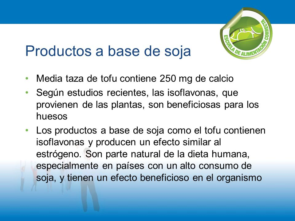 Productos a base de soja