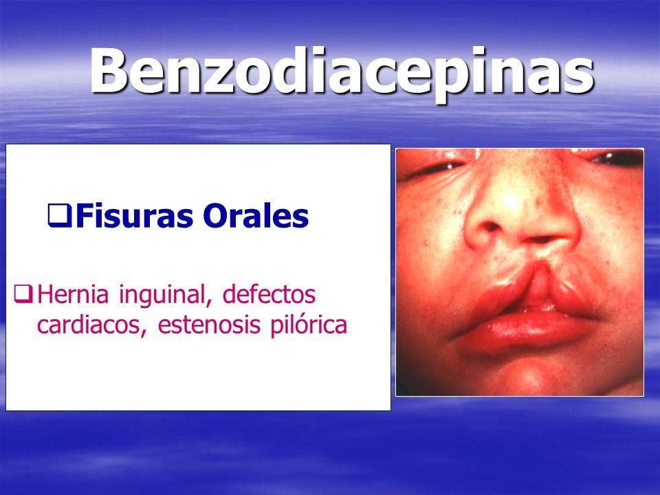 Benzodiacepinas Fisuras Orales