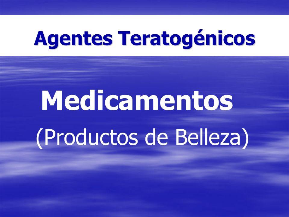 Agentes Teratogénicos