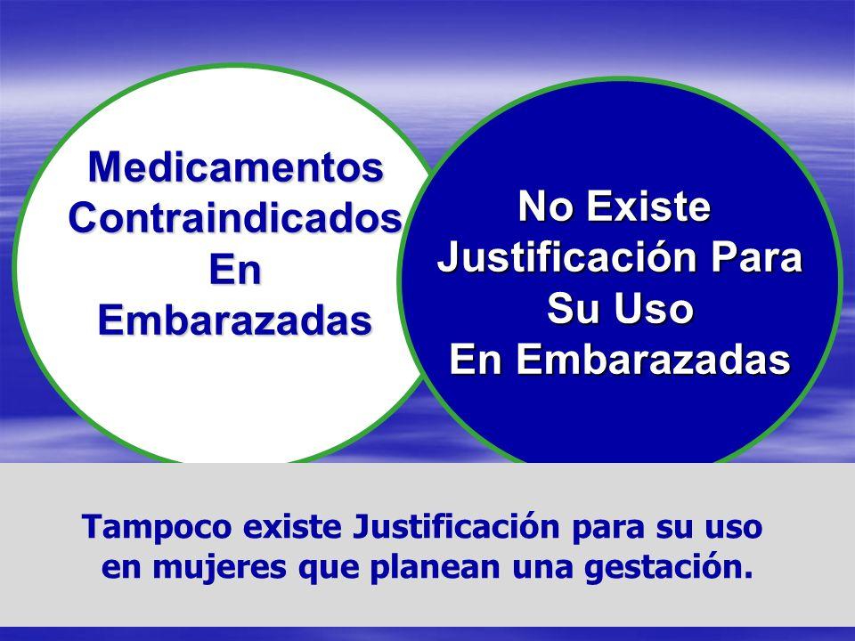 Medicamentos Contraindicados No Existe En Justificación Para
